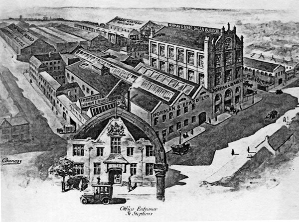 The St. Stephen's Works in Norwich