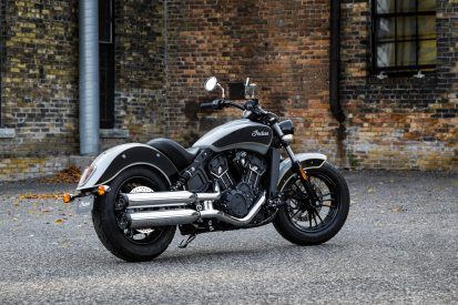 3Indian Scout Sixty now comes in a two-tone colour scheme - Indian starts selling a silver and black Scout Sixty at the start of the riding season
