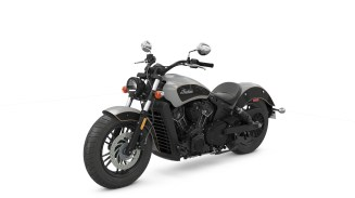 6Indian Scout Sixty now comes in a two-tone colour scheme - Indian starts selling a silver and black Scout Sixty at the start of the riding season