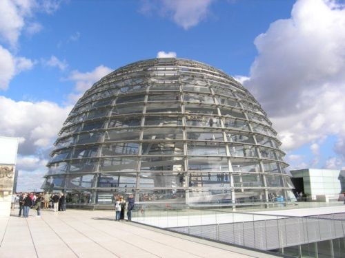 reichstag dome berlin exterior cupula norman foster arquitectura