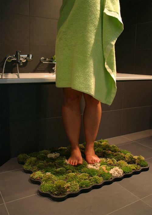 moss carppet alfombra baño nguyen la chanh