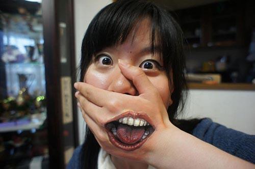Arte japonés: El body art realista de Chooo-San