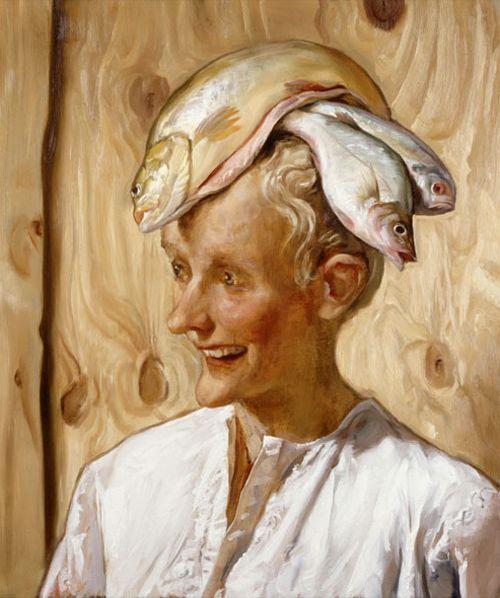 marroqui artista john currin retrato 2001 coleccion centre pompidou