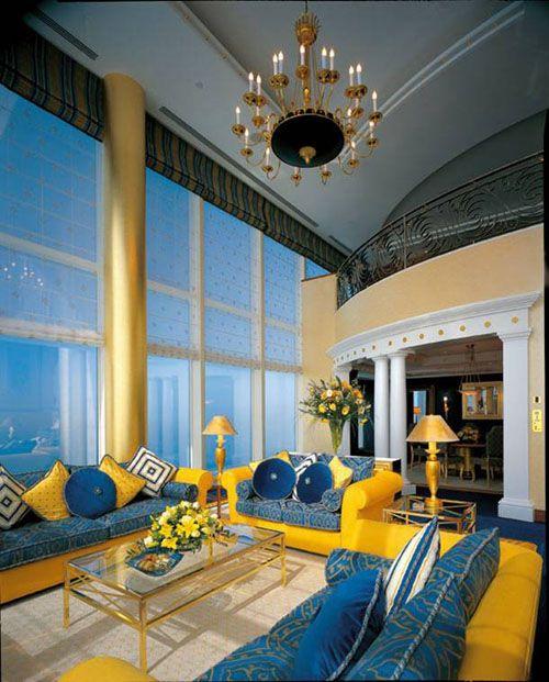 interior hotel lujo burj al arab