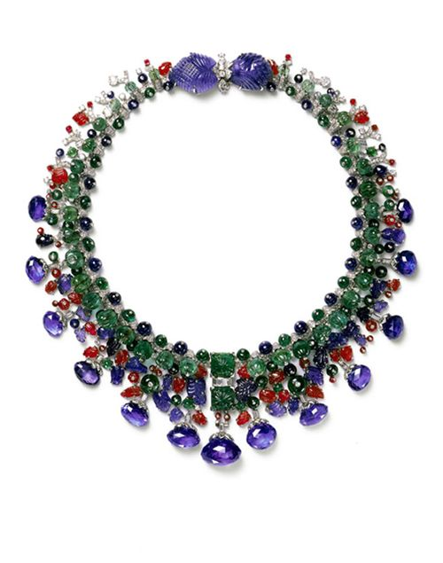 collar tutti frutti firma joyas francesa cartier para daisy fellowees