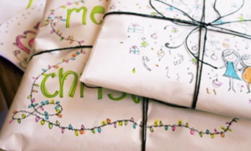 papel pintado regalo