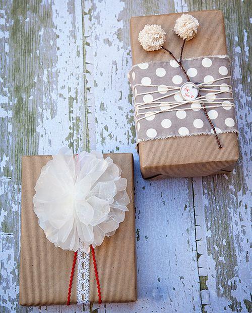 flores papel seda pompones lana