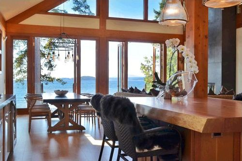 salon comedor vistas exterior