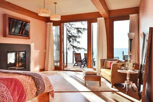 habitacion principal casa madera
