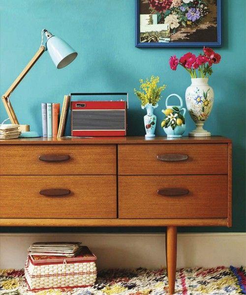 aparador estilo retro etxekodeco.blogspot.com.es