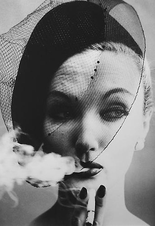 smoke & veil paris para vogue 1958 william klein