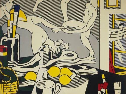 roy lichtenstein pop art arthistoryarchive.com