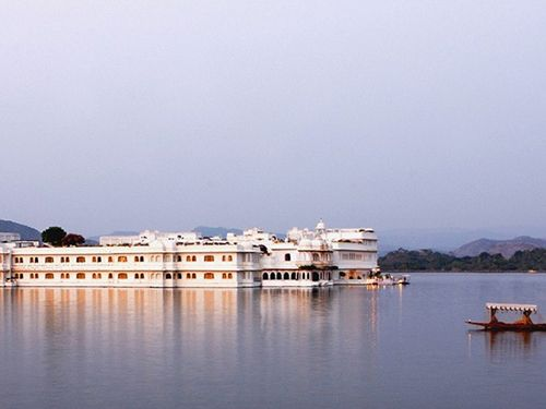 Hotel Taj Lake Palace.
