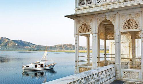 Hotel Taj Lake Palace.