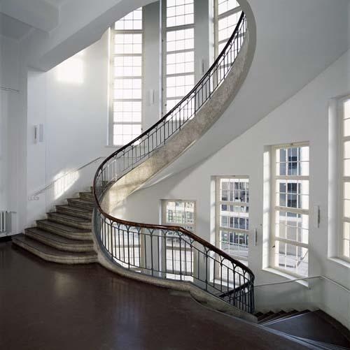 interior edificio bauhus dessau