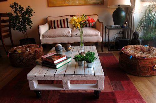 mesa salon palet trucoideas.com