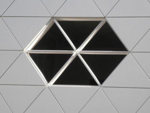 ventana fachada lycee georges freche kawneer