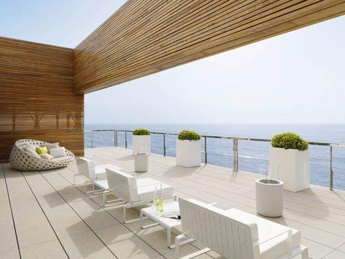 terraza descanso casa vistas mar