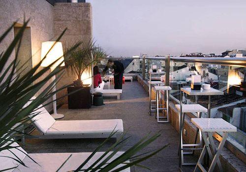 terraza vistas hotel urban madrid