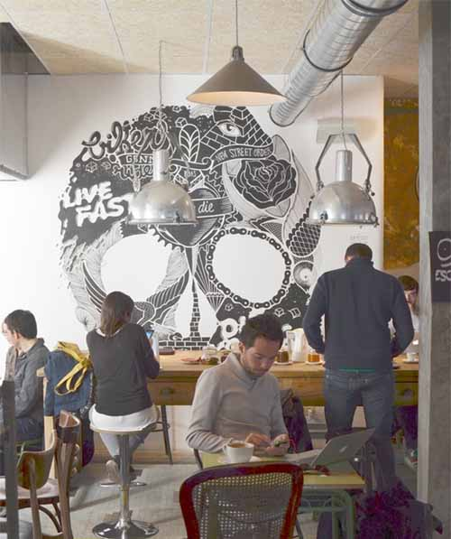 interior bicicleta cafe pinterest