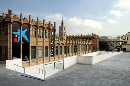 exterior edificio caixaforum barcelona letteringtime.org