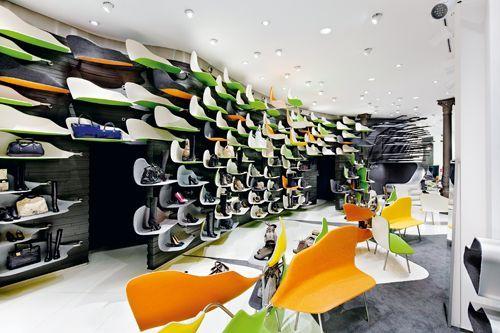 tienda diseño zapatos bolsos