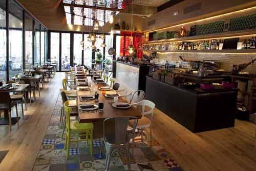 interior comedor restaurante cocina san anton