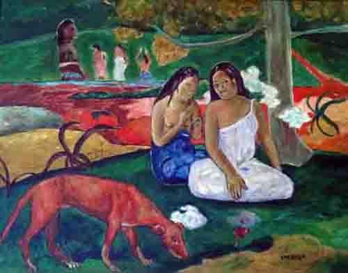 falsificacion elmyr estilo gauguin