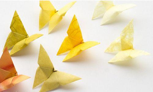 mariposas papel diy goorigami.com diyshow.es