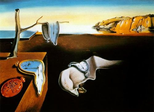 Paisaje de Dalí.