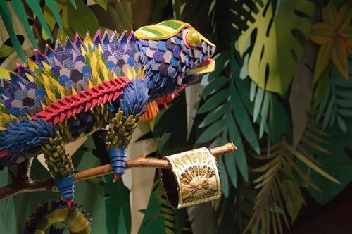 camaleon the eternal jungle papel zim and zou