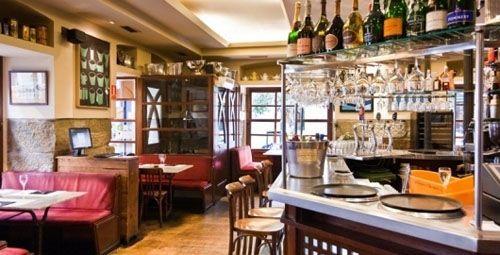 interior cafe brunch
