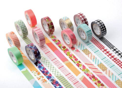 washi tape decorativo