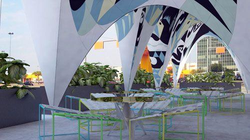 terraza asado brasil merida estudio row