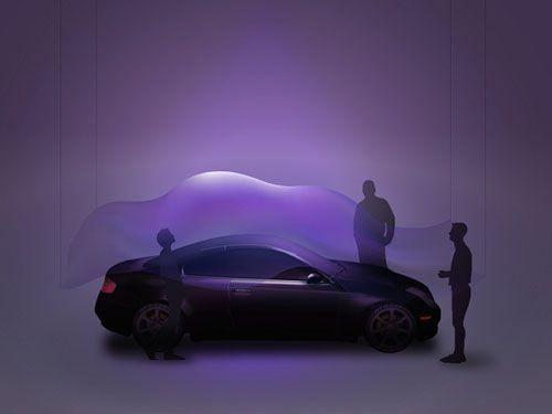 infinity diseño coche