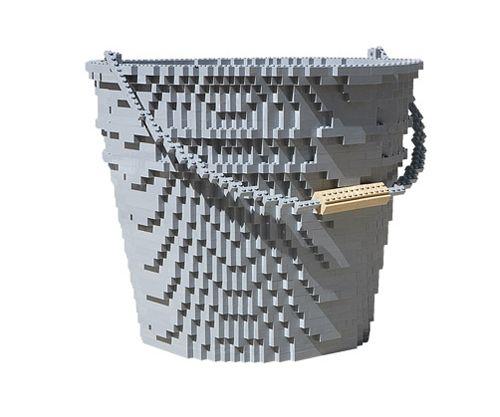 bucket escultura lego nathan sawaya inpiecescollection.com