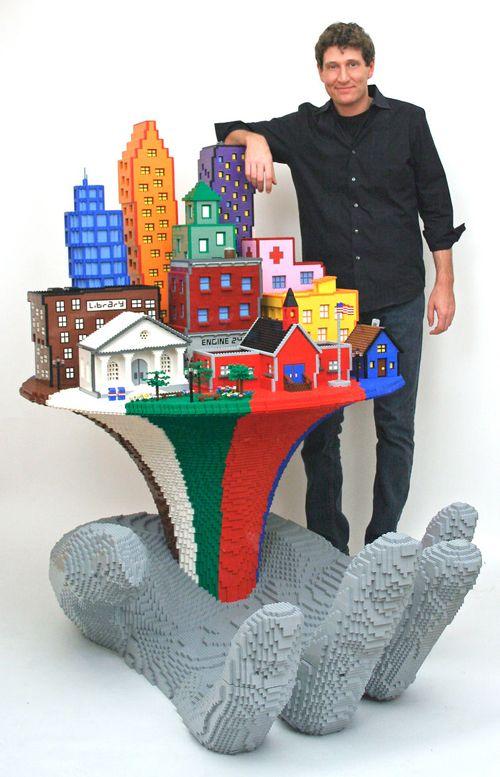 escultor realista lego
