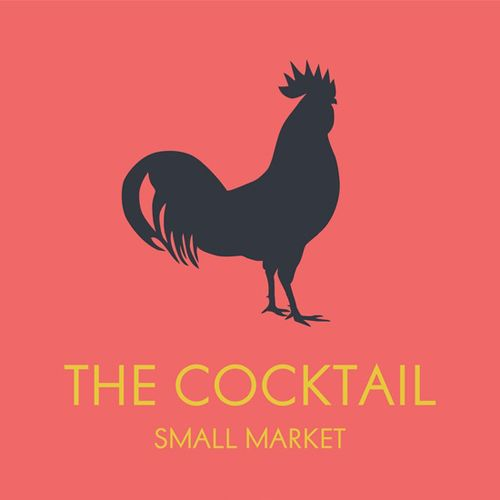 logo mercado the cocktail small market pinterest