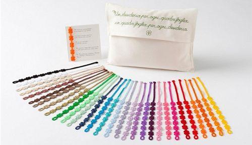 pulseras cruciani colores compulsivas.com