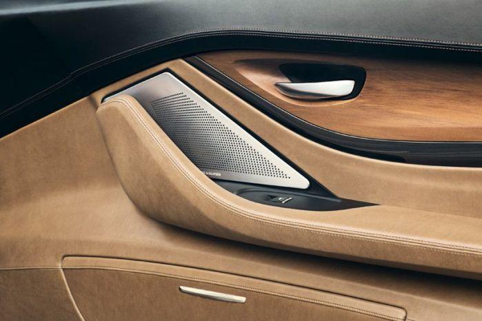 interior cuero marron detalle BMW