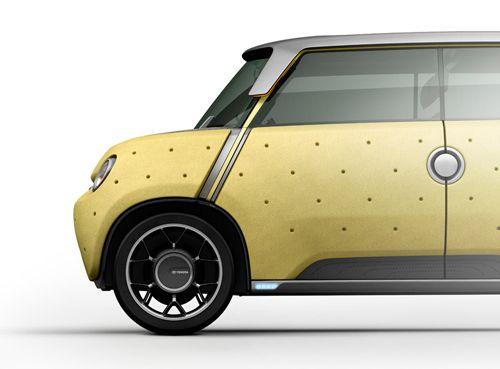 mewe amarillo coche toyota