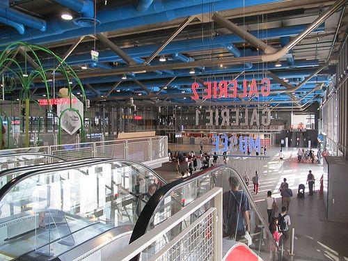 escaleras interior centro pompidou blog.infoviajero.es