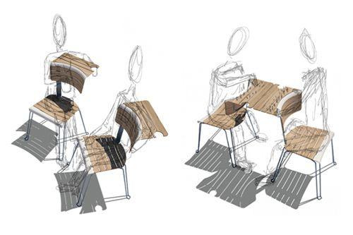 sillas convertibles mesa