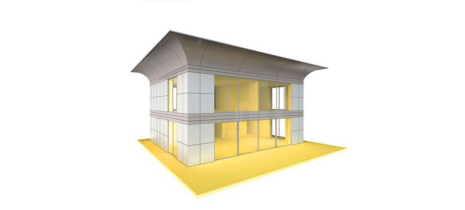 esquema casa prefabricada