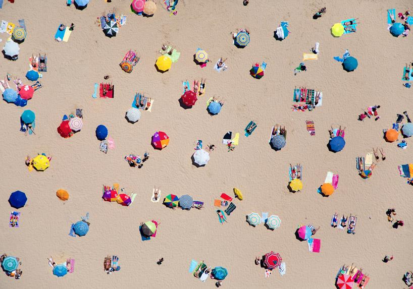Fotografías aéreas de playas por el fotógrafo Gray Malin