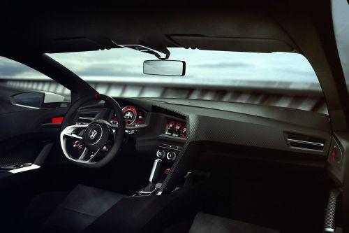ordenador central volkswagen desing vision