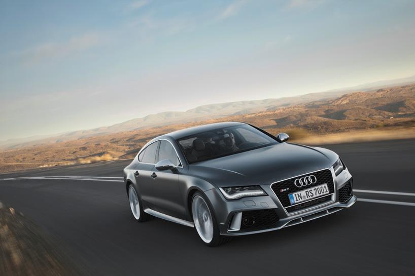 Nuevo Audi RS7 Sportback: el coupé cinco puertas para 2014