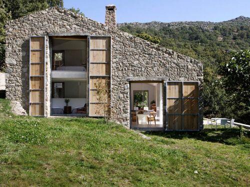 vivienda prefabricada piedra
