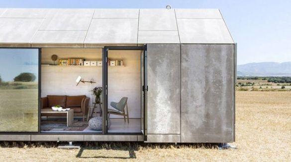casa sostenible cristalera