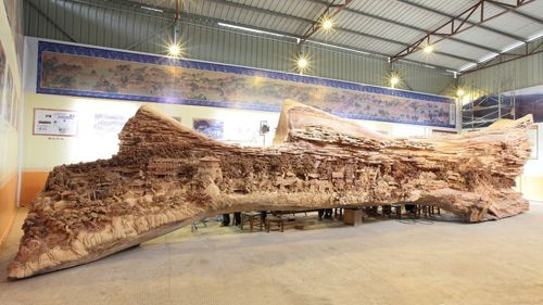 Escultura completa de Zheng Chunhui